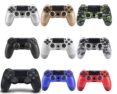 Wireless and wired Bluetooth Gamepad Controller that works for Dualshock4 PS4-4