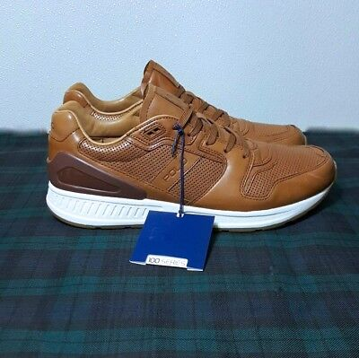 b7e9ae136fc5 Polo Ralph Lauren Train 100-Ath Men s Tan Leather Sneakers Shoes Sz 11.5D