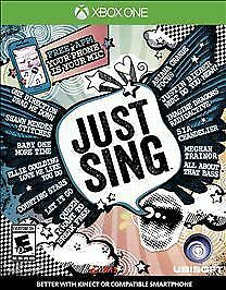 Just Sing (Microsoft Xbox One, 2016) BRAND NEW Fast Free Ship