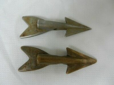 2 Bronze Whaling Harpoon Spears (A2Z004229)