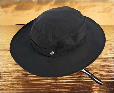 3187297c4a5 NEW COLUMBIA BORA Bora™ II Black Booney Bucket Hat Cap -  27.95 ...