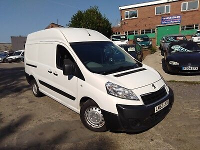 2012 62 Peugeot Expert 2.0 Hdi 6 Speed Lwb Hi Roof Direct Company Vehicle!