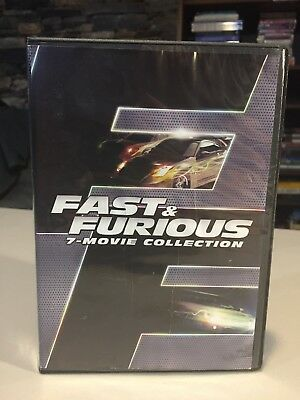 Fast & Furious 7-Movie Collection DVD 8-Disc Set