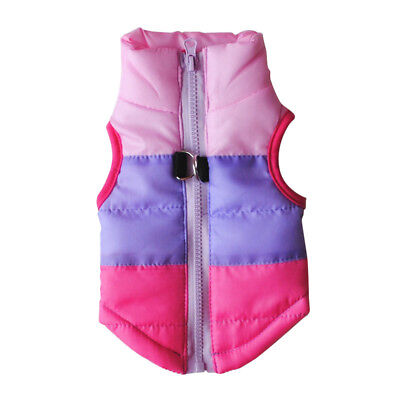 Pets Dog Clothes Waterproof Small/Large Winter Warm Padded Coat Pet Vest Jacket