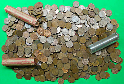 Odd Lot of 6.8 lbs Copper Canada Small Cents Pounds of Fun !!   bulk kilo kg bag