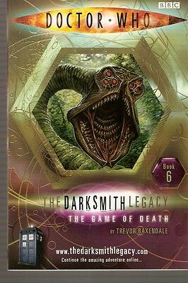 + DOCTOR WHO Paperback DARKSMITH LEGACY 6 The Game of Death  (David Tennant)