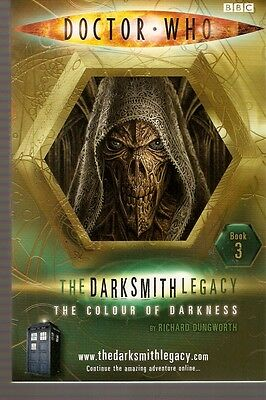 + DOCTOR WHO Paperback DARKSMITH LEGACY 3 The Colour of Darkness (David Tennant)