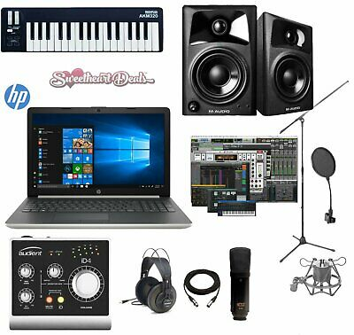 Home Recording Bundle HP Laptop Package w/ Audient iD4 & Pro Tools First