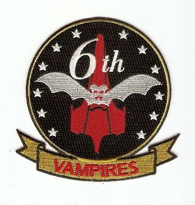 +  BATTLESTAR GALACTICA Aufnäher/Patch Viper Squadron 6TH VAMPIRES