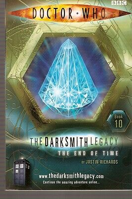 + DOCTOR WHO Paperback DARKSMITH LEGACY 10 The End of Time (David Tennant)