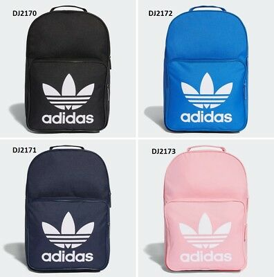 amazing selection best superior quality ADIDAS CLASSIC TREFOIL Backpack Pick Yours: Black Blue Navy ...