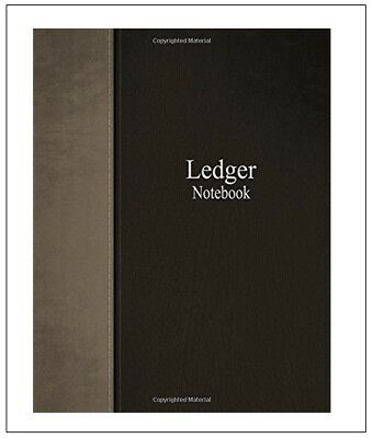3 Column Account Ledger 100 pg Book Journal Record Keeping Home Office