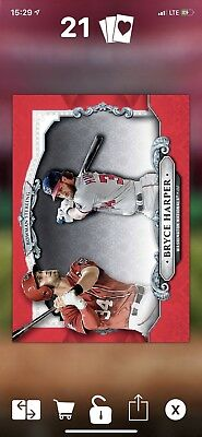 Topps Bunt 2018 Bryce Harper Bowman Sterling Award 30cc (digital card)