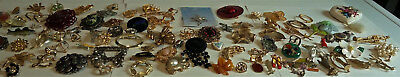 Lot Of Vintage To Now Brooches / Pins 90 Plus Pieces Wear Sell