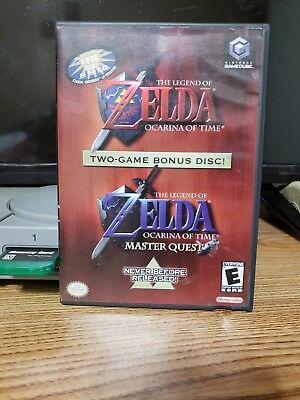 The Legend of Zelda: Ocarina Of Time Master Quest GameCube Limited