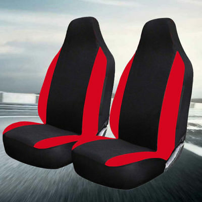 Toyota Aygo (2005-Date) Soft Deluxe Red Racing Car Seat Covers 1+1