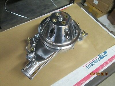 392 354 331 Hemi complete Alum Polished Water Pump Conversion BBC to Hemi drag