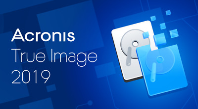 Acronis True Image 2019,protect your data,backup ,clone &  RESTORE CD OR DVD