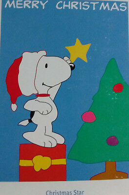 Snoopy Merry Christmas Images.Snoopy Merry Christmas Star On Tree Applique Life S A Breeze Large Flag New