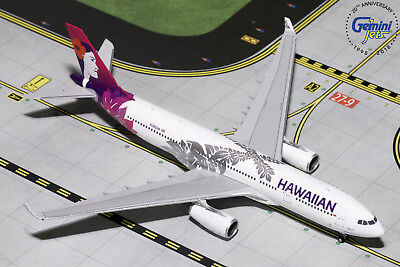 Hawaiian Airlines Airbus A330-200 N380HA Gemini Jets GJHAL1787 1:400 IN STOCK