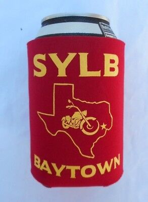 Bandidos Support Coozie Bay Town Texas New Official Licensed 1%
