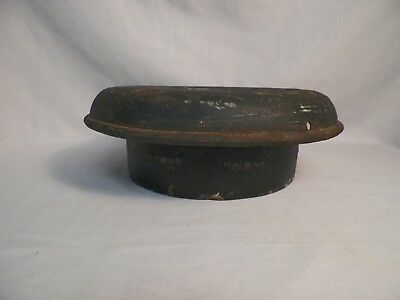 Old Vintage Dairy Milk Can Lid, Top, Cap Primitive Home Decor (B)