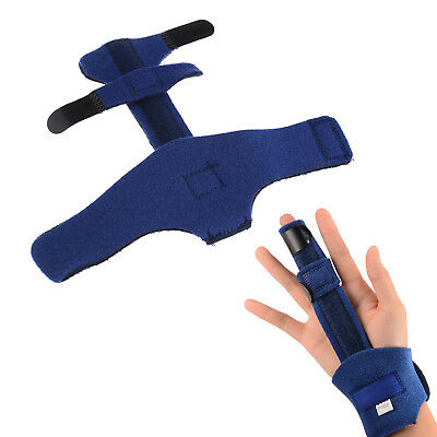 Unisex Adult Finger Extension Splint Trigger Hand Orthotics Brace Pain Relief