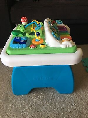Chicco Music 'N Play Toddler Activity Table Reversible EUC