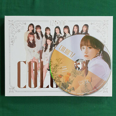 [No Photocard] Jo Yu Ri Plate IZ*ONE 1st Mini Album COLOR*IZ Rose Ver Geunine