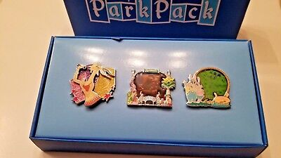 Disney Park Pack 2018 ZOOTOPIA Pin Set LE 500 Judy Mr. Big Gazelle Stained Glass