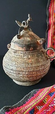 Old Northern India / Tibetan Bronze Vessel …beautiful collection piec