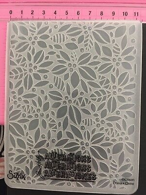 #211 Sizzix Tim Holtz  Embossing Folder Cuttlebug Compatible