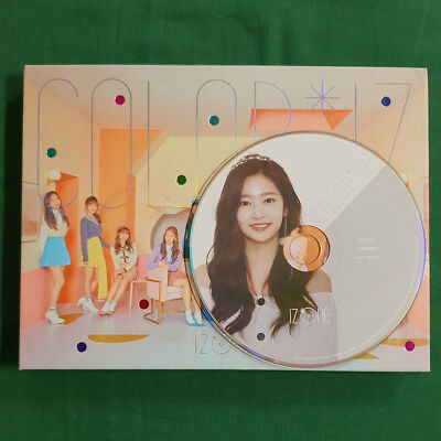 [No Photocard] Kim Min Ju Plate IZ*ONE 1st Mini Album COLOR*IZ Color Ver