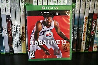 NBA LIVE 19:The ONE Edition (XBox One 2018) NEW SEALED