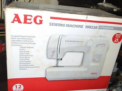 SEWING MACHINE NM220 AEG --- (Only $108 with credit code)