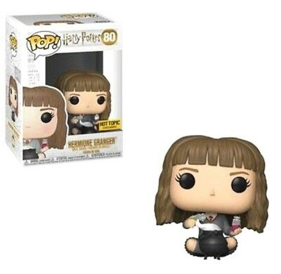 Funko Pop Harry Potter #80 Hermione Granger Seated Hot Topic Exclusive PreOrder