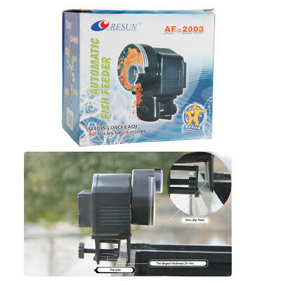 New Automatic Timer Aquarium Tank Pond Fish Food Feeder AA battery(Not Included)