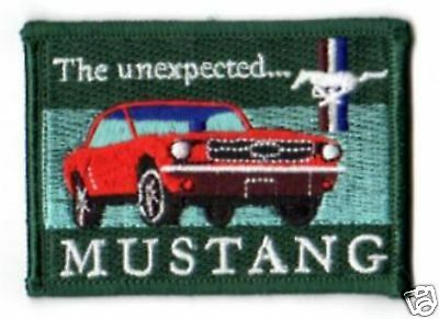 Aufnäher Ford Mustang green Patch Shelby Mustang