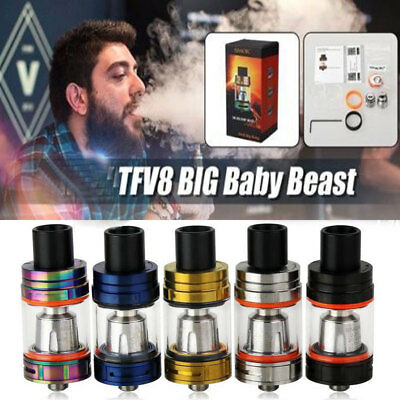 US New 5ML For TFV8 Big Baby Beast Tank Single kit