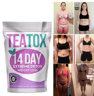 Detox Tea Teatox Slimming Tea Colon Cleanse Fat Burn Set Weight Loss Tea
