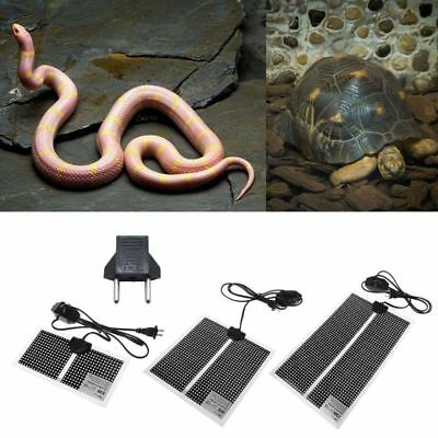 New Pet Reptile Heat Mat Turtle Lizard Substrate Constant Warmer Waterproof Bed
