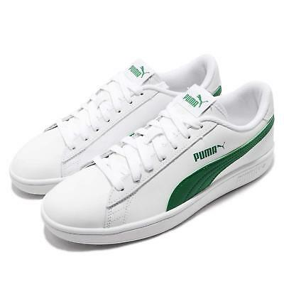 Puma Smash V2 L White Amazon Green Men Women Casual Shoes Sneakers 365215-03 868fb64ff