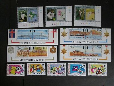 St Helena QEII Decimal stamps with Face Value of £4.46  Mint Never Hinged