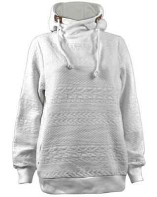 38243ac0f5b4f Unisexe Pull-Over Col Roulé Pull à Capuche Femmes Polaire Jaquerad Pull Neuf