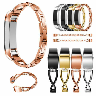 Lady Bling Wrist Band Wristband Watch Strap Bracelet For Fitbit charge 2 / HR
