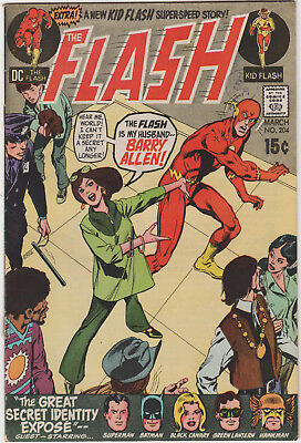 The Flash # 204   Fn / Fn+   Bronze Age Dc