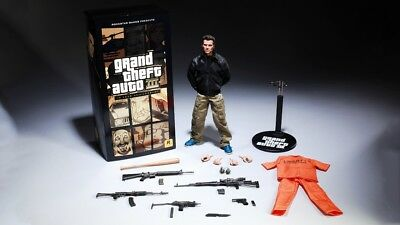 Grand Theft Auto III 10th Aniversary Limited Edition Claude Action Figure.