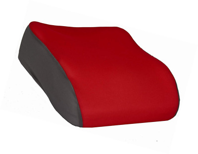 Kids Portable Narrow Fit Small Car Booster Seat Child Travel Safety 3 12 Yr Red