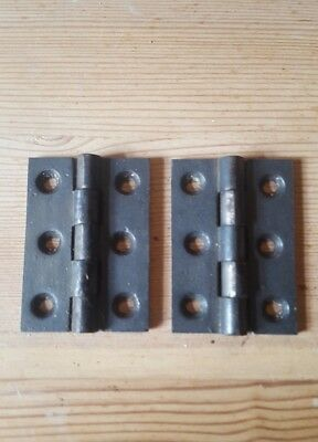 Pair of cross hinges 2 1/2""