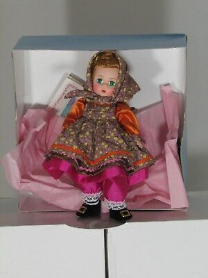 Madame Alexander doll Mother Gothel 1539 Brown hair Brown eyes
